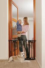 Zoe Hallway security gate dog pet care Black