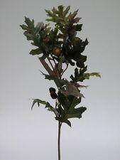 Eichenzweig mit Früchte grün/braun 65cm Zweig Kunstblumen Dekoration