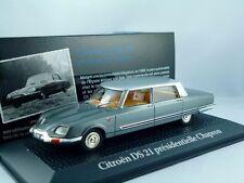"""Citroen DS 21 presidentielle Chapron  """"de Gaulle / Nixon 1969""""  1:43"""