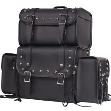 Sissy Bar Bag Motorcycle Travel Luggage Removable  Bags Universal Fit Harley S