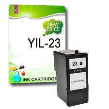 1 Black ink cartridge Replace for Lexmark 23XL X4550 Z1400 Z1410 Z1420