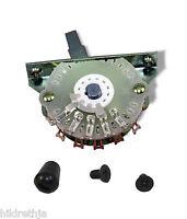 Switch 4 Way Oak Grigsby with Black knob Electroswitch 081364BK