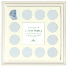 Baby MY FIRST YEAR Photo Frame - Multi PICTURE DISPLAY for 12 Months WHITE