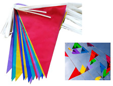 33 Feet 20 Flags Multi Colour Banner Bunting Party Decoration Event Home Garden*