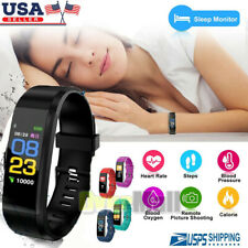 Fitness Fit**bit Smart Watch Activity Tracker Women Men Android iOS Heart Rate