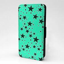 Para Apple iPod Abatible Estuche Cubierta Estrellas Vintage Touch patrón-T1048