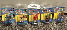 Gentle Giant DC Super Powers Mini figures Batman Robin Flash, Joker, Lex Luther