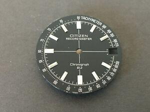 Citizen Record Master Chronograph dial