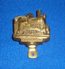 Vintage Brass Snowdon Railway Train Door Knocker