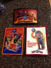 3 New Ringling Bros. Barnum Bailey Circus Boy Girl Scout Patches Lot