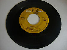 Eddie Rabbitt---I Love A Rainy Night/Gone Too Far---Elektra 45111---45 RPM--1980