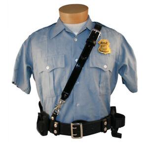 Boston Leather 6511-2-GLD Sam Browne Shoulder Strap