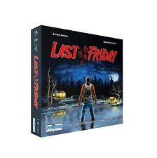 Last Friday - Board Game - Ares Games - Strategy - Horror - Free Shipping - NEW!