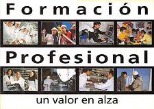 B9118 Metiers jobs Formacion Profesional Spain