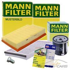 MANN-FILTER INSPEKTIONSPAKET FILTERSATZ A FÜR FIAT PANDA 169 1.2 1.4 BJ 09-