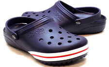 CROCS Jibbitz Navy Blue Convertible Clogs Men's 7 Women's Size 8 NEW