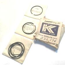 Kohler Piston Ring Set 232576 NOS