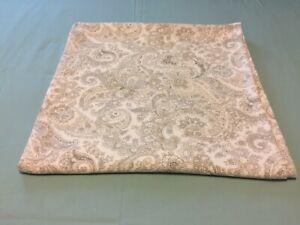 "LAUREN Ralph Lauren Paisley Shower Curtain 100% Cotton 68"" x 70"""