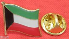 Kuwait Country Flag Lapel Hat Cap Tie Pin Badge Brooch Dawlat al-Kuwait Gift