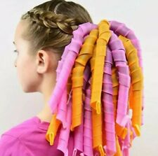 20pcs Magic Long Hair Curlers Curl Formers Spiral Ringlets Leverage Curlers 55cm