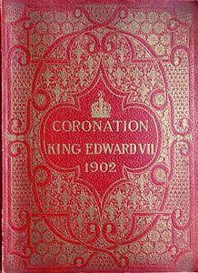 Orig 1902 King Edward VII Coronation souvenir issue ILN, chromo, Royalty, Crown