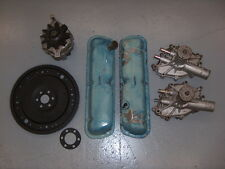 1979-1993 Ford Mustang 302 Engine Parts Shelf Clean Up Water Pump Valves Covers