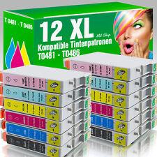 12 kompatible Patronen für Epson Stylus Photo R 200