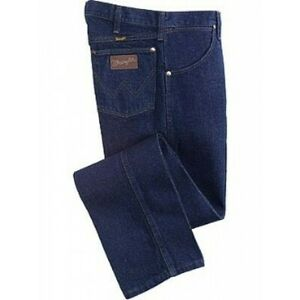 Men's Wrangler Jeans 31MWZPW Relaxed Fit Rodeo Blue Jeans Size 33 x 38