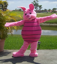 Piglet Winnie The Pooh Pink Pig Mascot Costume Adult Party Halloween Cosplay