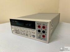 34401a Hp Agilent Digital Multimeter 65 Digit Dc Serial Us36135775