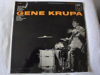 GENE KRUPA VINYL LP 1955 COLUMBIA RECORDS MONO AFTER YOU'VE GONE, SLOW DOWN