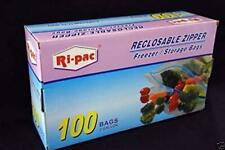 "New listing 100 pieces 2 Gallon Size 13x16"" Zip Lock Reclosable Freezer Storage Bags Zipper"
