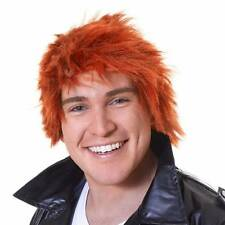 Ginger Chisel Wig Chucky Henry Scotsman Red Mens Ladies Halloween Fancy Dress