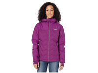 Columbia Womens Grand Trek Down Jacket Purple Omni-Tech Trail Ski NWT New