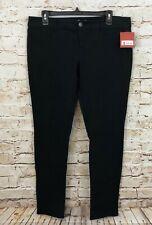 Mossimo black knit leggings womens juniors 13 pants stretch new A3