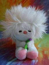 MWT Cute Vintage 1982 DAKIN Frou Frou White Plush Stuffed Animal Baby Toy
