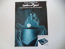 advertising Pubblicità 1970 BACI PERUGINA