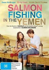 SALMON FISHING IN THE YEMEN (DVD 2012)-EWAN McGREGOR, EMILY BLUNT, KRISTIN SCOTT