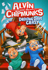 Alvin and & the Chipmunks: DRIVING DAVE CRAZY (DVD) alvinnn simon theodore NEW