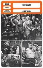 FICHE CINEMA : FORTUNAT - Bourvil,Morgan,Joffé 1960 Fortunate