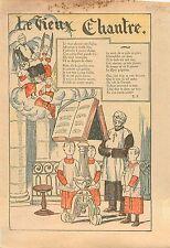 Le vieux Chantre Prêtre Enfants de Coeur Messe Catholique Kyrie Grégorien 1932
