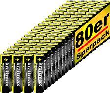 80x kraftmax Xtreme Mignon AA Batterien - 1,5V Alkaline Industrial - Batterie