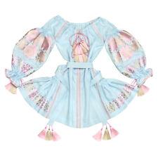 "Embroidered dress boho ukrainian vyshyvanka with wedges""Crystal Roses"".All sizes"