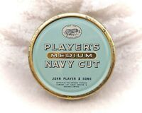Vintage Players Medium Navy Cut Tobacco Tin-Round
