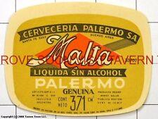 Scarce Cerveza Malta Palermo 371ml Argentina Tavern Trove