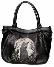 Banned Apparel Hecate Gothic Cat Pentagram Star Kitty Handbag Shoulder Bag