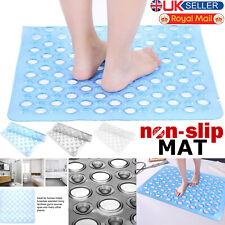 Bath Shower Mat Strong Suction Non Slip Hygienic Bathroom Rubber Foot Massager