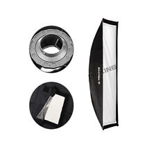 "30x90cm / 12x36"" Bowens Mount Softbox for Strobe Photography Equipment"