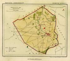 ANTIQUE MAP-NETHERLANDS-STIPHOUT-NOORD BRABANT-KUYPER-1865