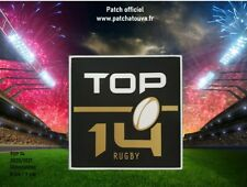 France Patch Badge officiel Top 14 maillot Rugby 2020/2021 Toulouse, Toulon etc